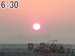 2004/02/22 の有明の朝日