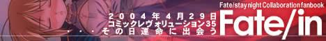 せっかくだからでかいのを。Fate/in バナー